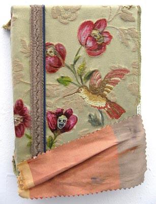 Flower Children of Zion suck / 2007 / 18 x 12 cm / Oil on Philly fabric